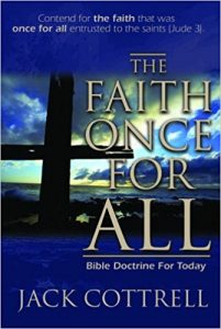 Bood Cover: The Faith Once for All