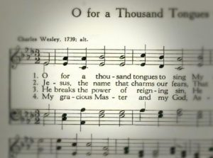 image of hymnal page