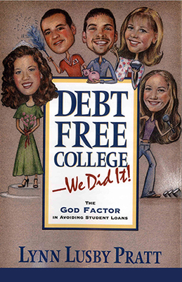 "cover of ""Debt Free College"" book"