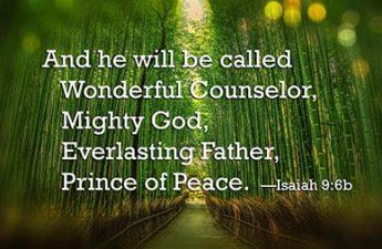 text of Isaiah 9:6b