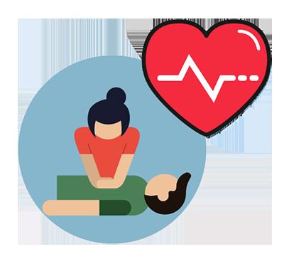 cartoon of CPR