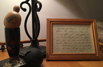 handwritten scripture
