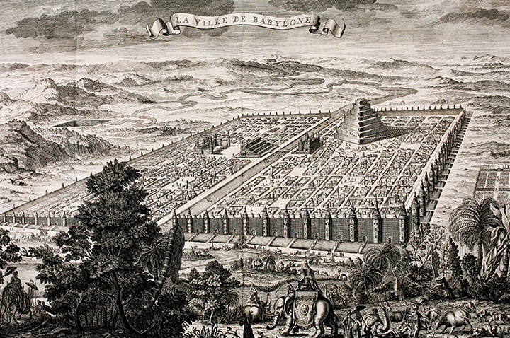 old map of Babylon