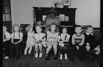 vintage sunday school photo