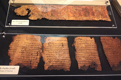 ancient Scripture fragmets