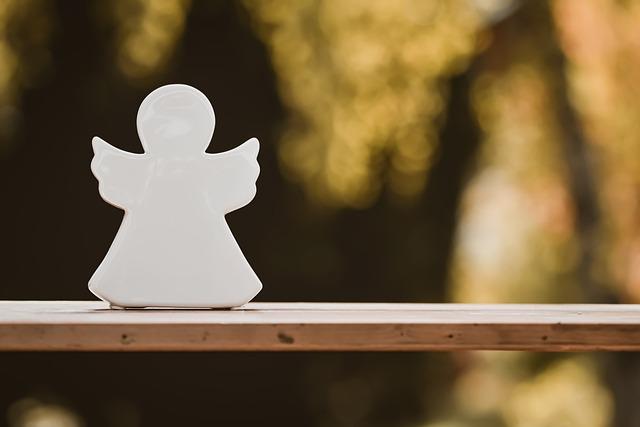 simple angel figure